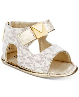 305d1df19 Michael Kors Baby Dolly Sandals, Baby Girls (0-4) - Tan/Beige 2 ...