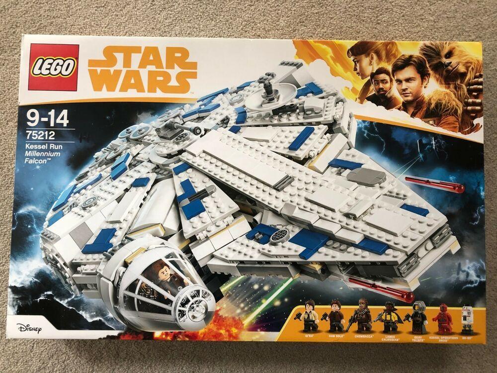 NEW SEALED 75212 LEGO Star Wars Solo Kessel Run Millennium Falcon 2018