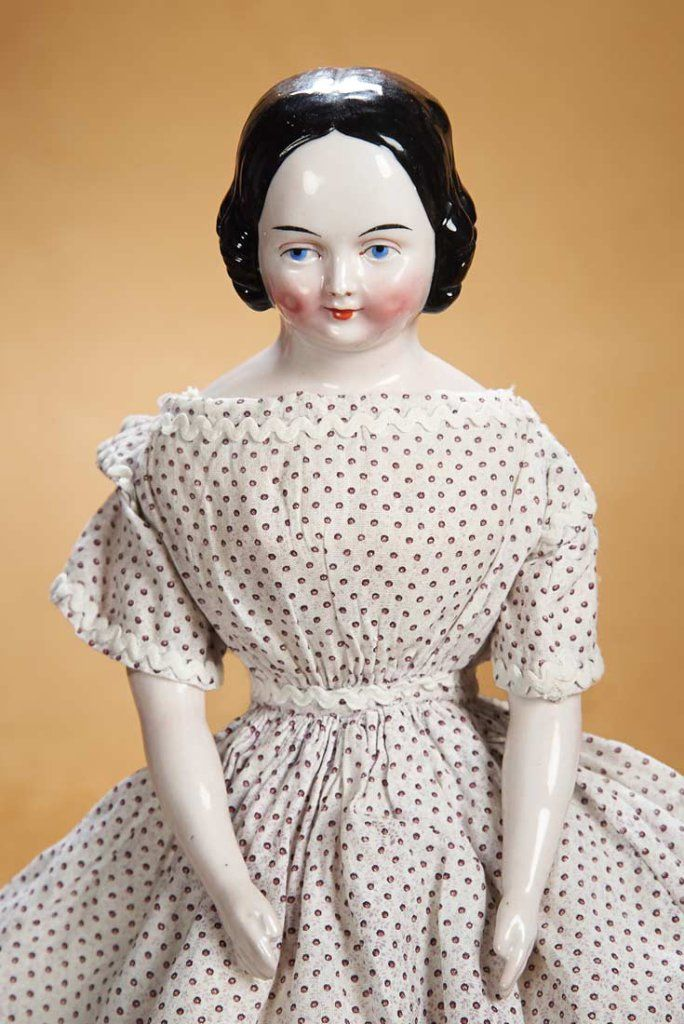 German Porcelain Doll with Very Rare Sculpted Cheek Dimples 1200/1700 Auctions Online | Proxibid