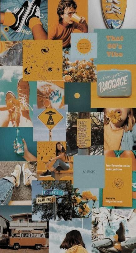 Trendy Painting Aesthetic Vintage Ideas #yellowaestheticvint | aesthetics