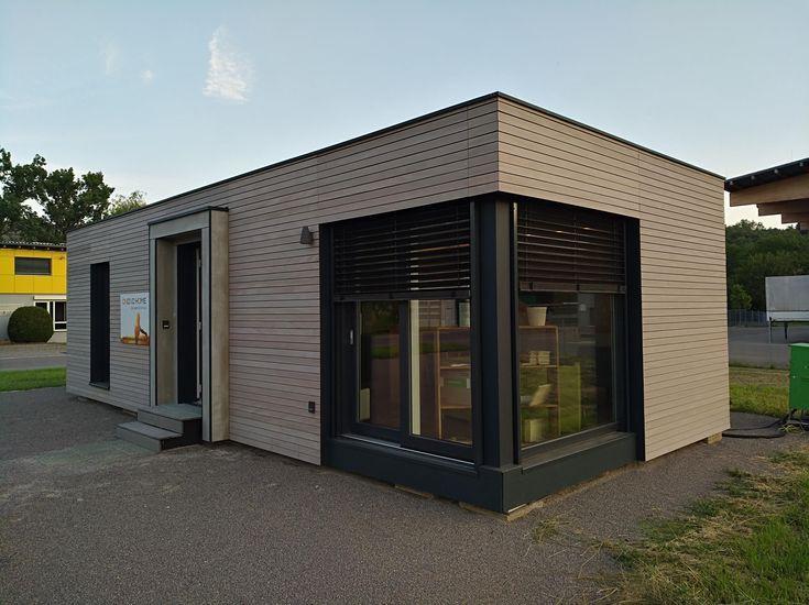 Modulhaus 46m² als lässiges Singlehome Haus, Anbau