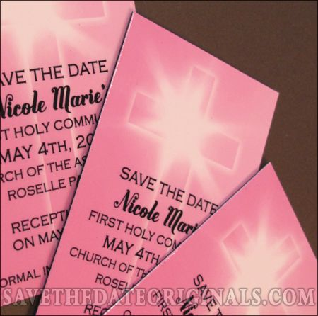 Save The Date Magnets For A First Communion 2 5x4 Inches Get Them