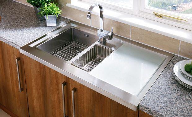 Rectangular Form Stainless Sinks Kitchen Simple Design Marble Top Double Bowl Was Best Kitchen Sinks Stainless Steel Kitchen Sink Undermount Steel Kitchen Sink