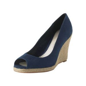 596fc180a86 navy wedge shoes - Google Search | Wedding attire | Navy wedge shoes ...