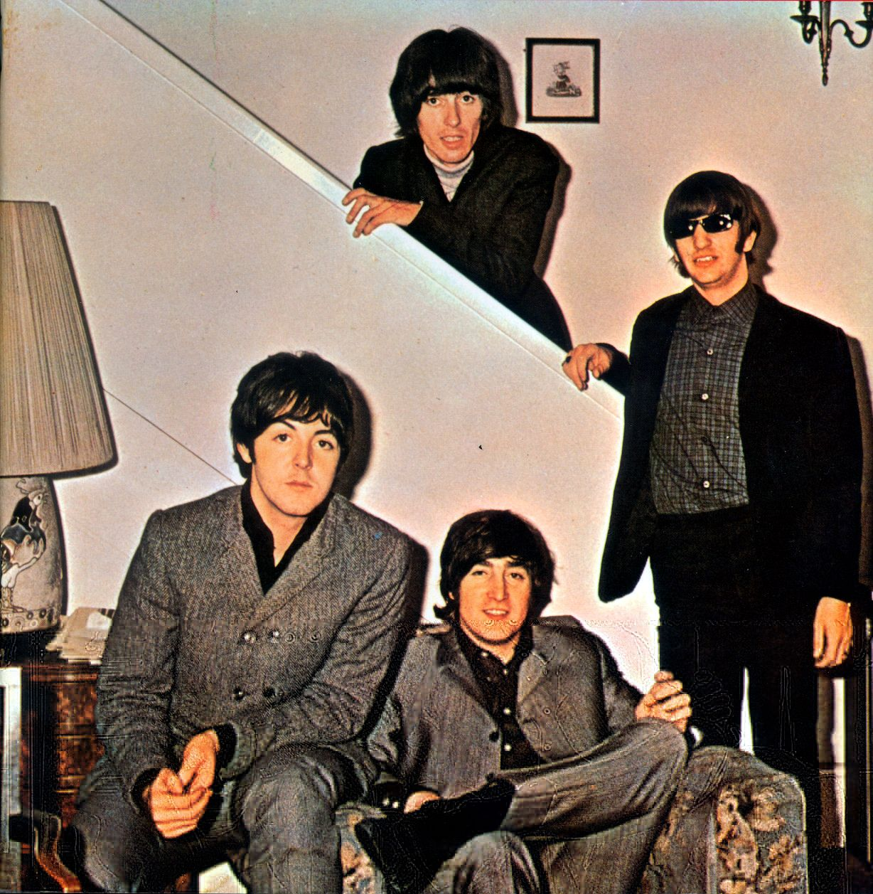 On December 1, 1965 The Beatles got together in the home of Mal Evans to rehearse and put together a set list for a 9 city UK tour that went from December 3, 1965 - December 12, 1965