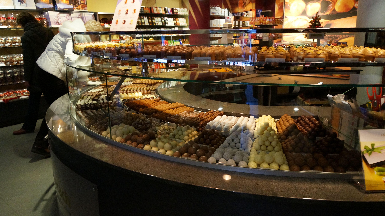 Swiss Chocolate Shop! #travel #cruise #ChristmasMarkets #Basel ...