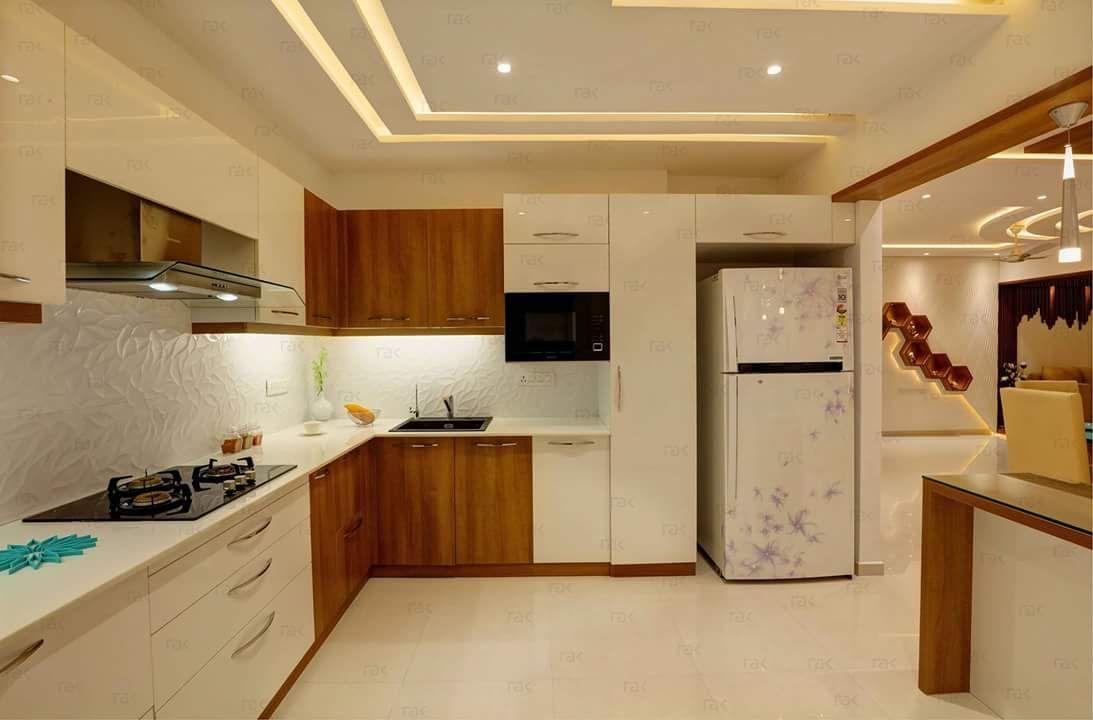 Modular Kitchen Open Kitchen Design For Small House   Novocom.top