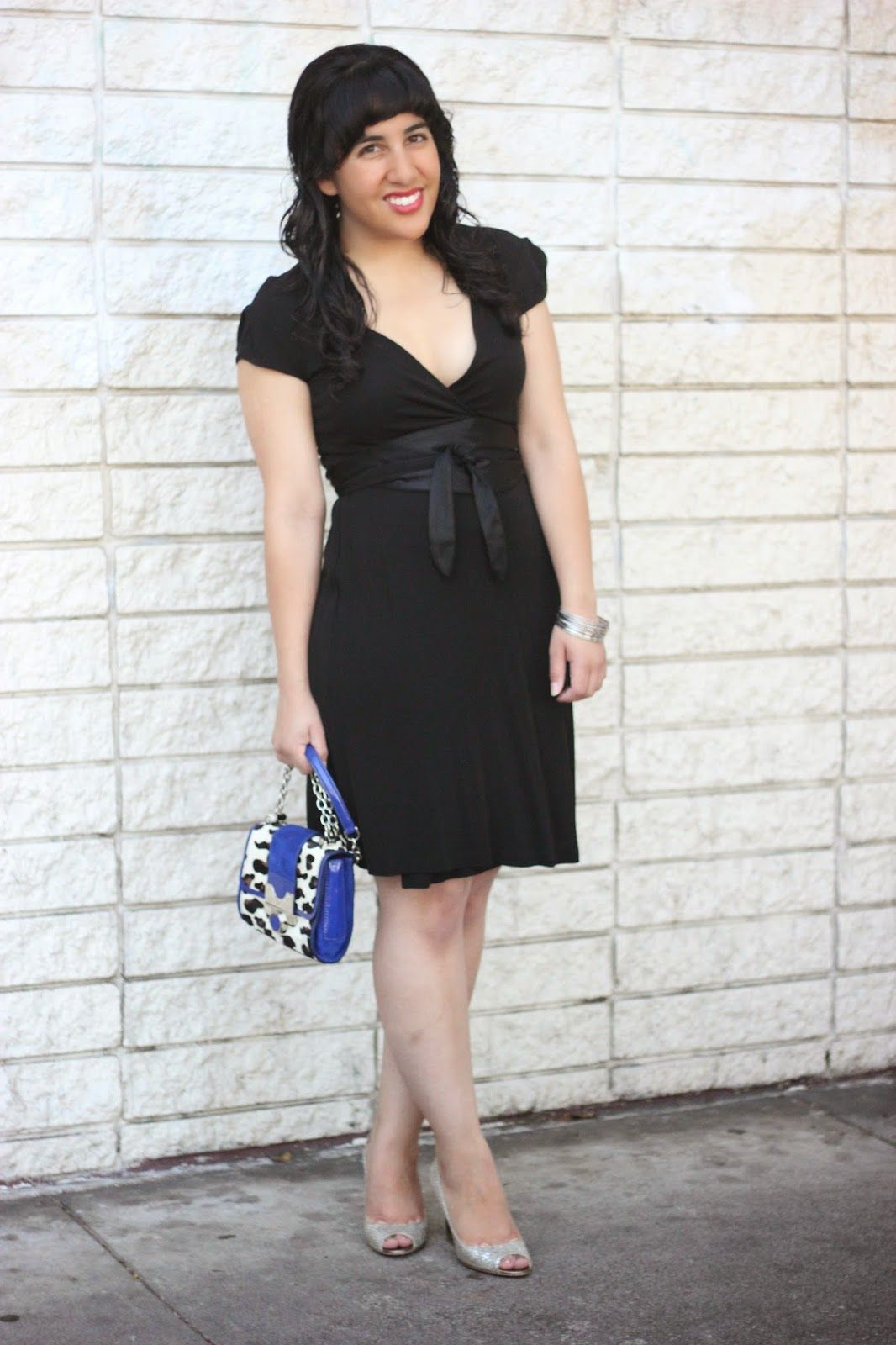 Diane Von Furstenberg Black Wrap Dress Work Date Outfit 40 Days Of Dvf Day 39 Will Bake For Shoes