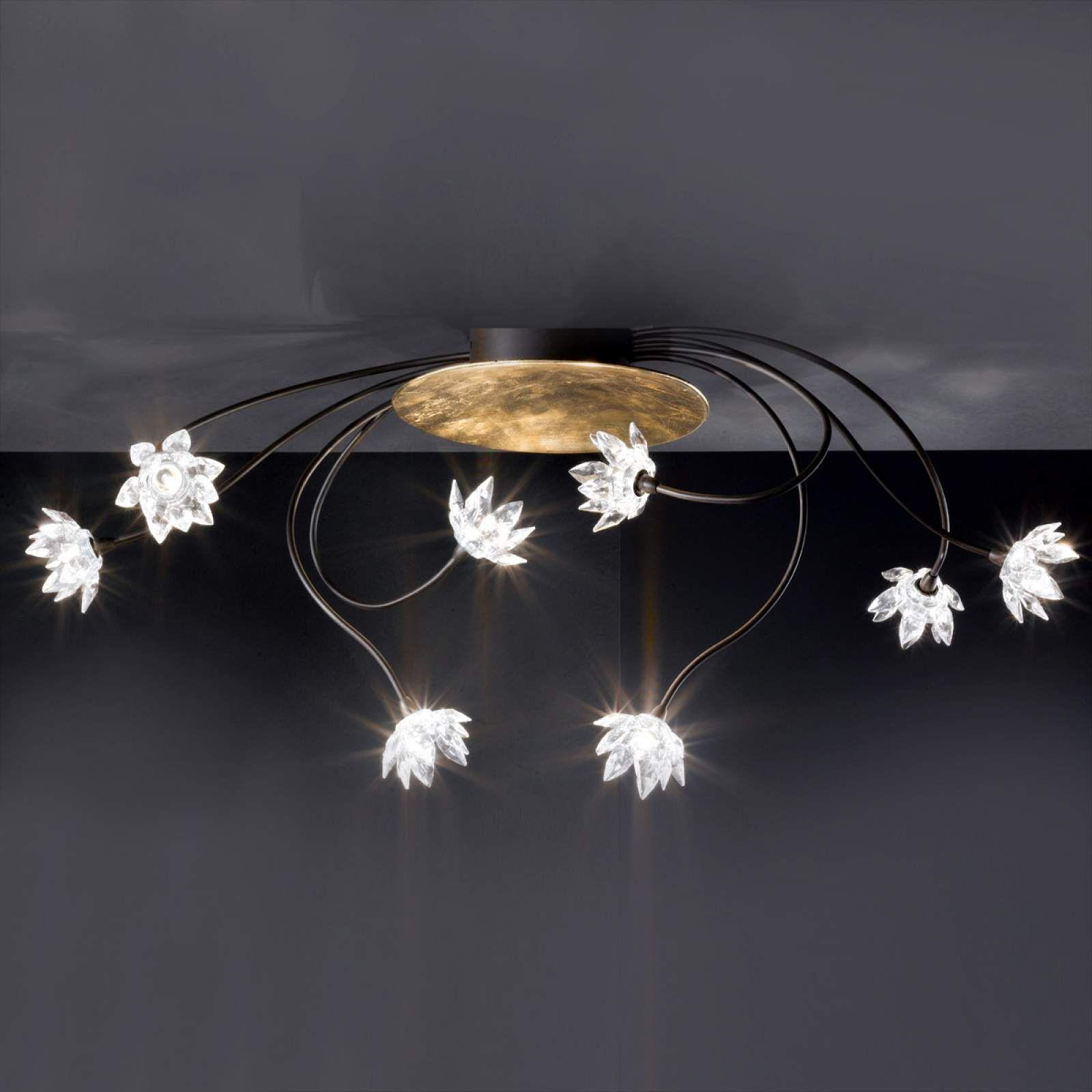 Moderne Deckenleuchte Fiorella Von Kogl Braun Deckenleuchten Design Lampen Und Leuchten Und Deckchen