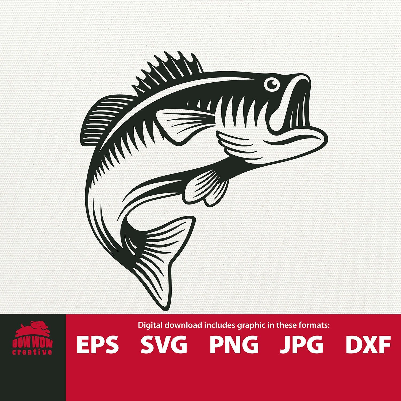 Download Jumping Bass Svg Jumping Fish Fishing Svg Fish Svg Fish Clip Etsy Fishing Svg Fish Silhouette Fishing Decals