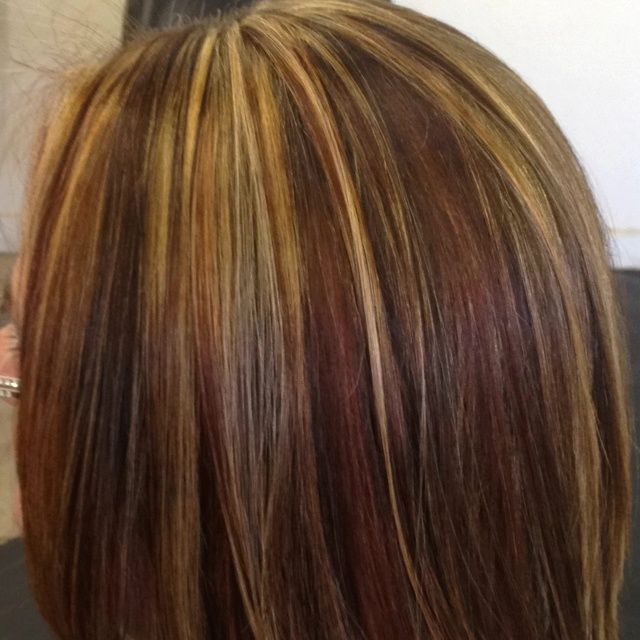 Gorgeous tricolor highlight lowlight pieced haircolor its highlight and lowlight hair color pmusecretfo Gallery
