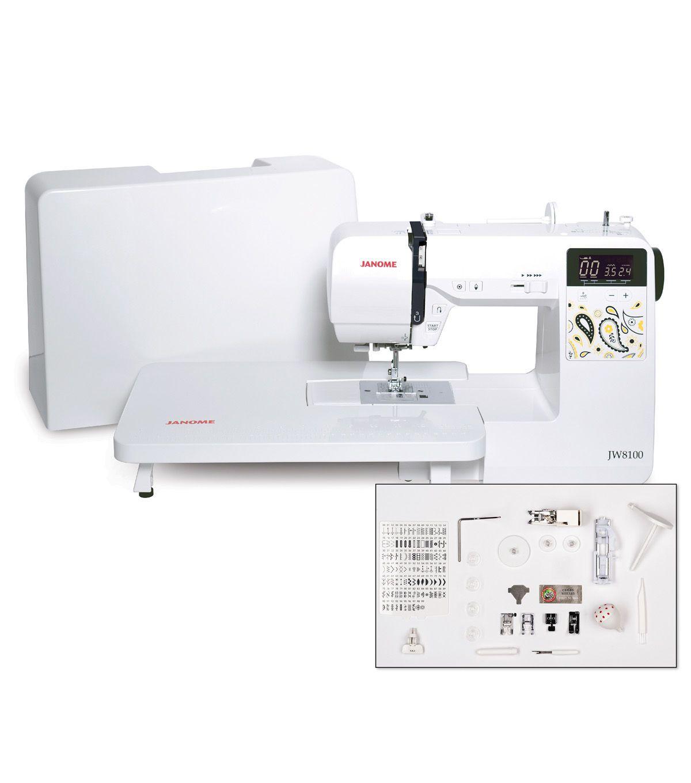 Janome JW8100 100 stitch Computerized Sewing Machine