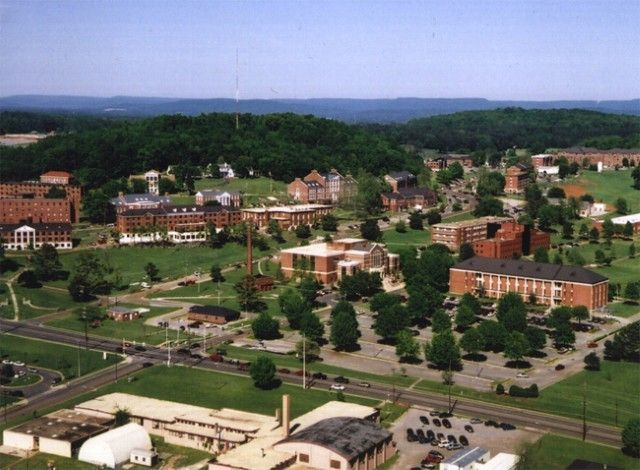Alabama A M University The Hill Aerial View Historically Black