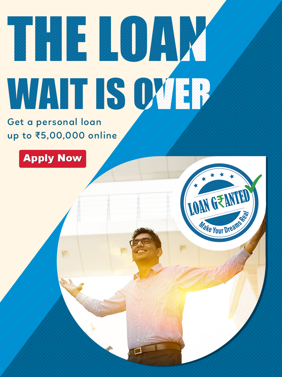 Don T Wait For A Loan Get Up To Rs 5 00 000 From Loan Granted As Soon As Today Apply Now Person Personal Loans Personal Loans Online Instant Cash Loans