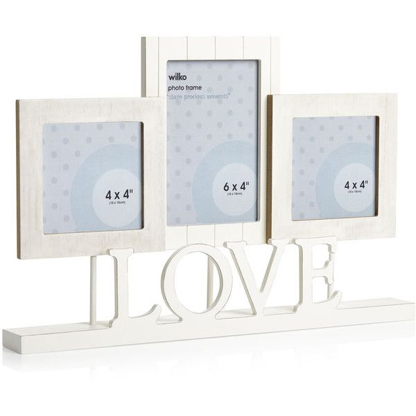 Wilko Love Multi Picture Frame ($10) ❤ liked on Polyvore featuring ...