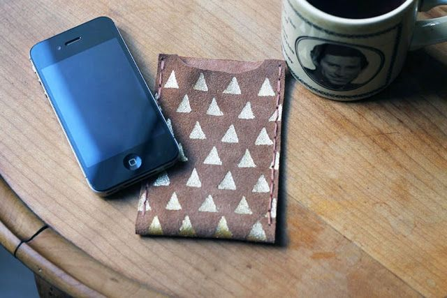 DIY - Funda de cuero iPhone: Simplette