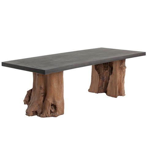 Kismet Double Pedestal Dining Table Pedestal Dining Table And Pedestal - Modern double pedestal dining table