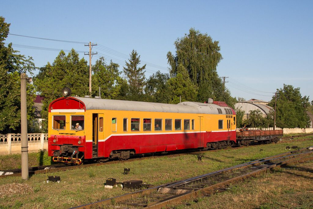 Ganz–MÁVAG DMU from D1 series in Moldova