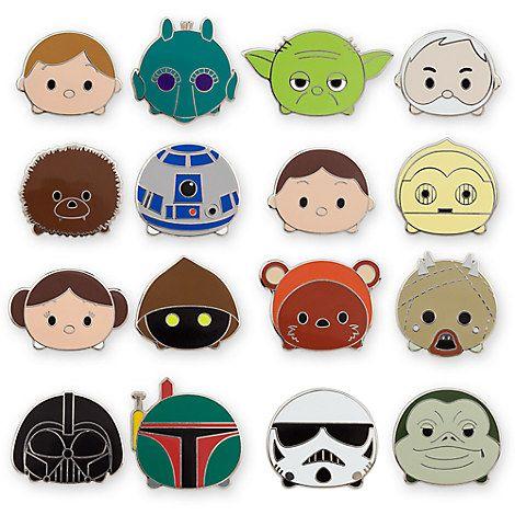 Lot Of 10 New Disney Trading Pin Star Wars Theme Lot Pins Star Wars Themed