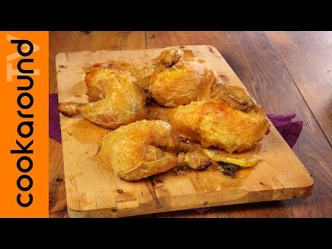 Pollo arrosto / Tutorial ricetta - YouTube