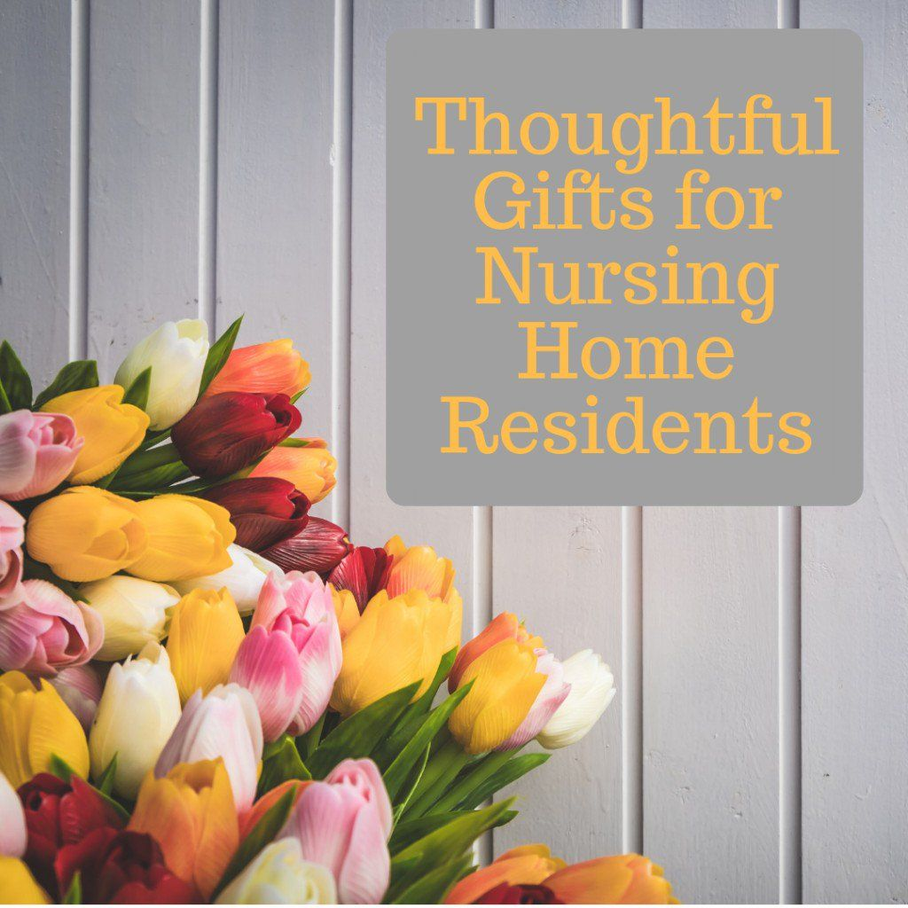 homemade gifts for nursing home residents