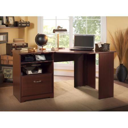 Bush Furniture Cabot Collection Corner Desk Multiple Finishes