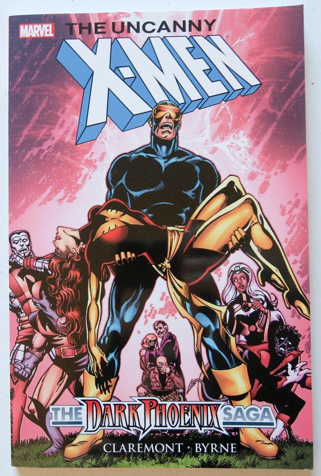 The Uncanny X Men The Dark Phoenix Saga Marvel Graphic Novel Comic Book Dark Phoenix X Men Comics