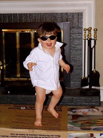 Tom cruise from risky business Its hot enough for it to work - work halloween ideas