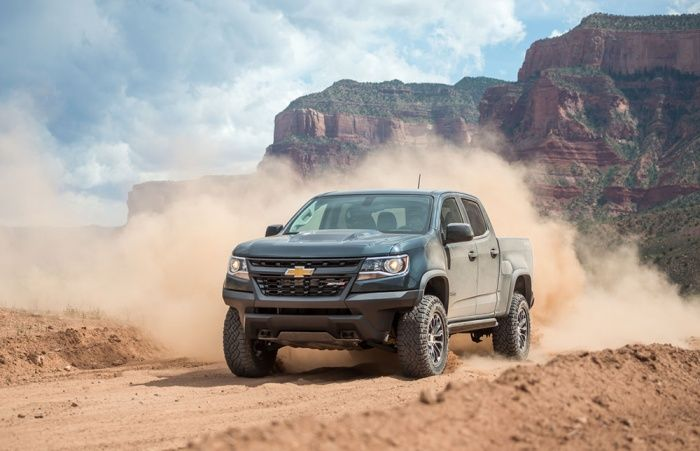 Off Road Test The 2018 Chevrolet Colorado Zr2 Gearjunkie