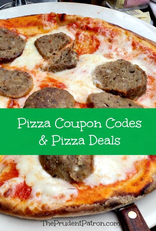 Pizza Coupon Codes and Pizza Deals - The Prudent Patron