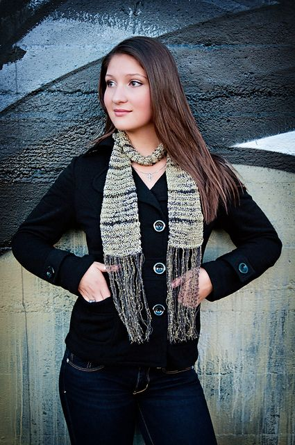 The Multnomah Village Scarf pattern by Judy Smitke; part of the Neighborhood Knits & Crochets Too: 2014 Rose City Yarn Crawl Pattern Collection eBook available on Ravelry. Photography by Joanna Schilling of Ember Owl Photography.