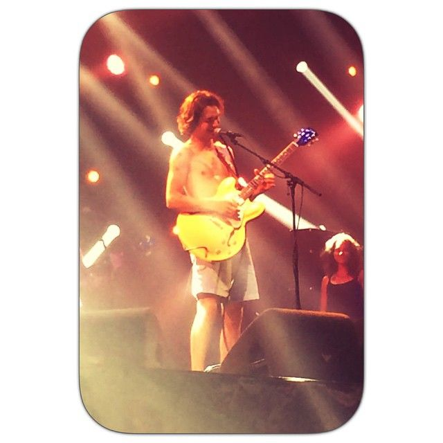 "@yearoftherebel's photo: ""Shinin' at #lowlands #summer #festival #guitar #music #jettrebel #yearoftherebel #jettrebelfan #wealllovejettrebel #wealllovejelte #live by SJ68"