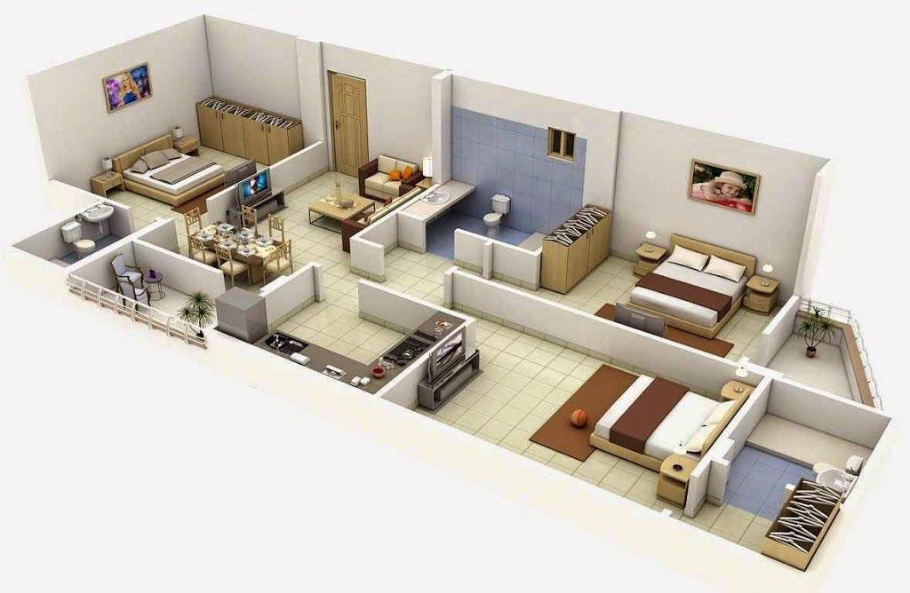 Planos Para Casas Pequenas Con Medidas