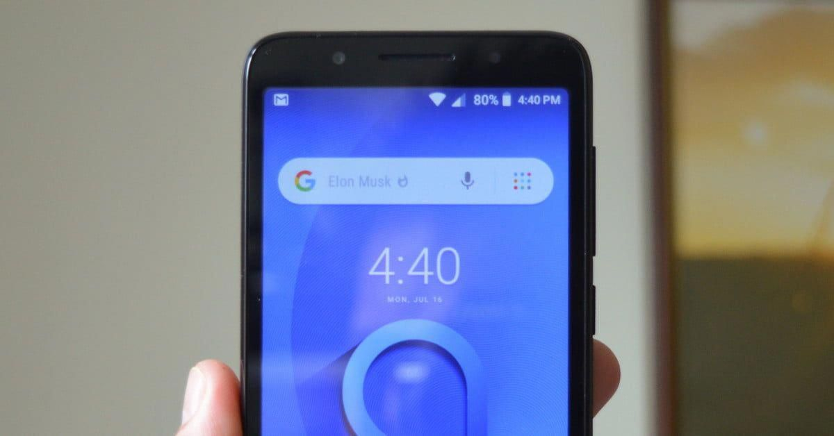 The Android Go-powered Alcatel 1X is cheap, but it's plagued with