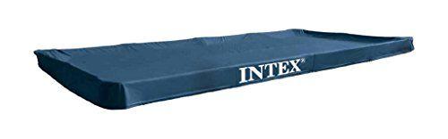 Intex 28039 Bâche de protection pour Piscine rectangulaire Bleu 450 x 220 x...