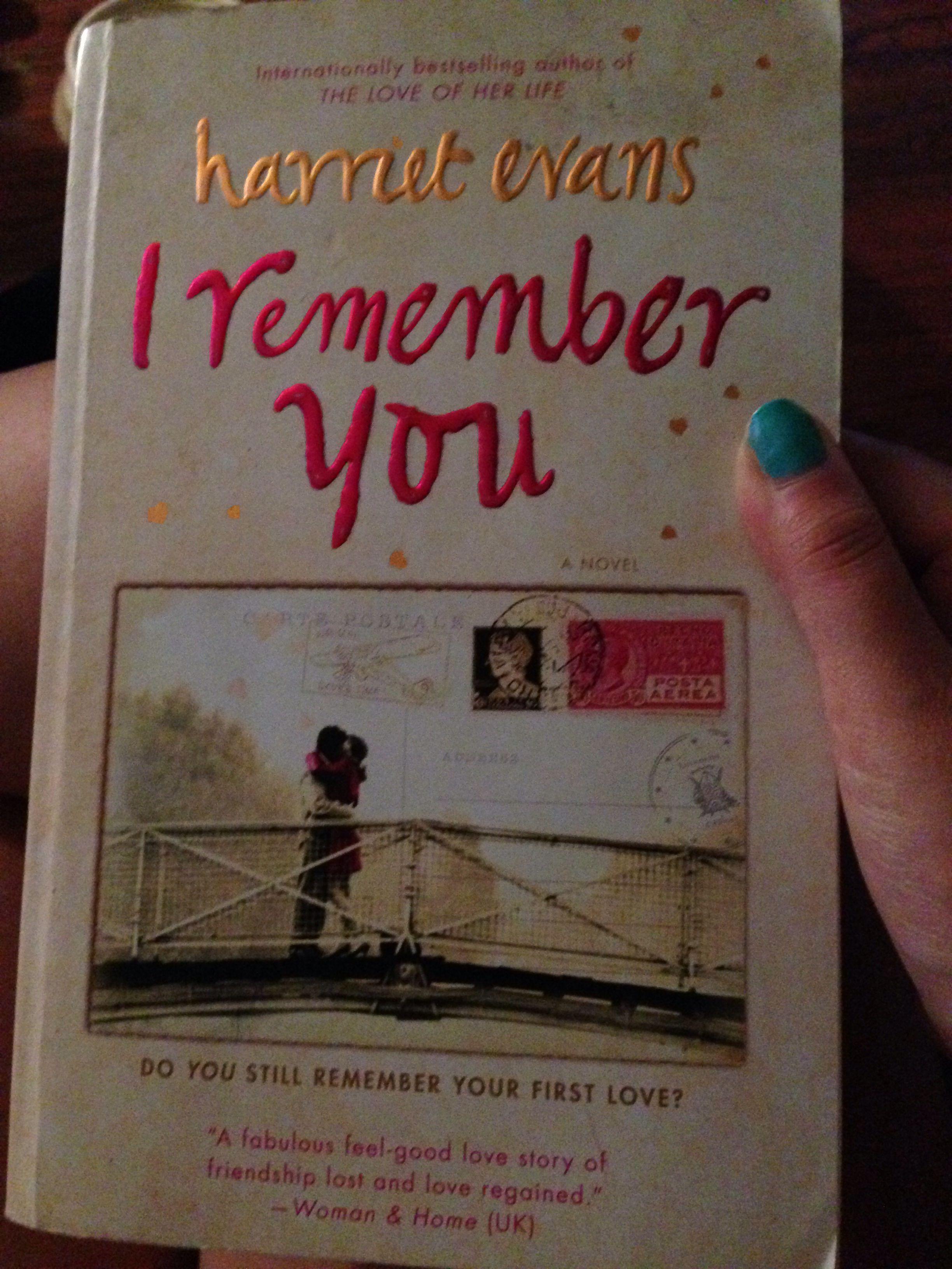 i remember you evans harriet