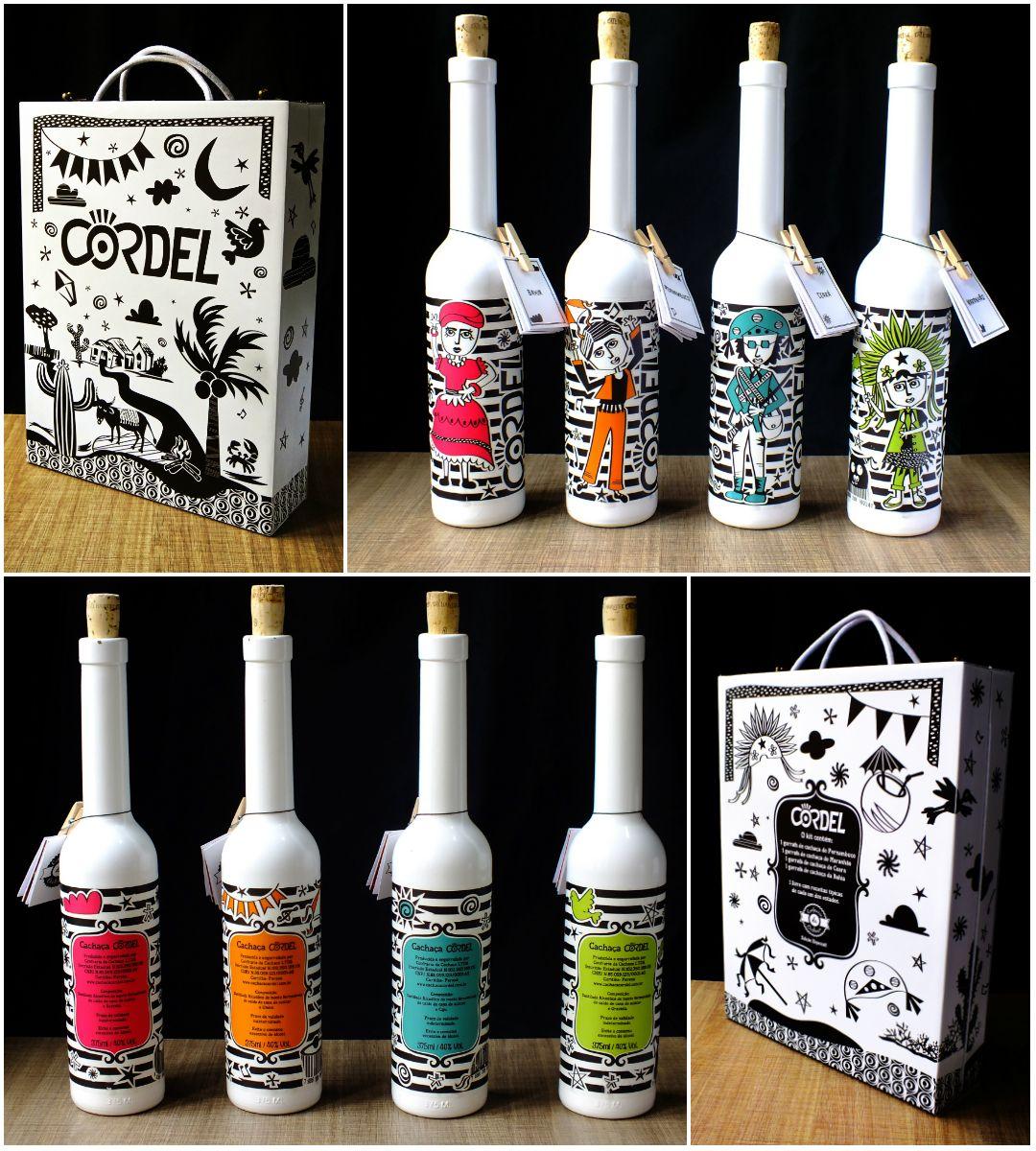 Trabalho Acadêmico - Cachaça Cordel http://www.behance.net/gallery/Trabalho-Academico-Cachaca-Cordel/12999929 #design #cordel #illustration #nordeste #garrafa #brasil #package #embalagem #beverage #branding #packaging #design #creative #marketing #packages