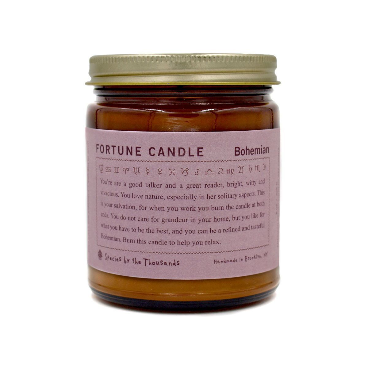 Fortune Candle — Bohemian