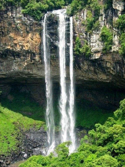 caracol falls, rio grande do sul, brasil