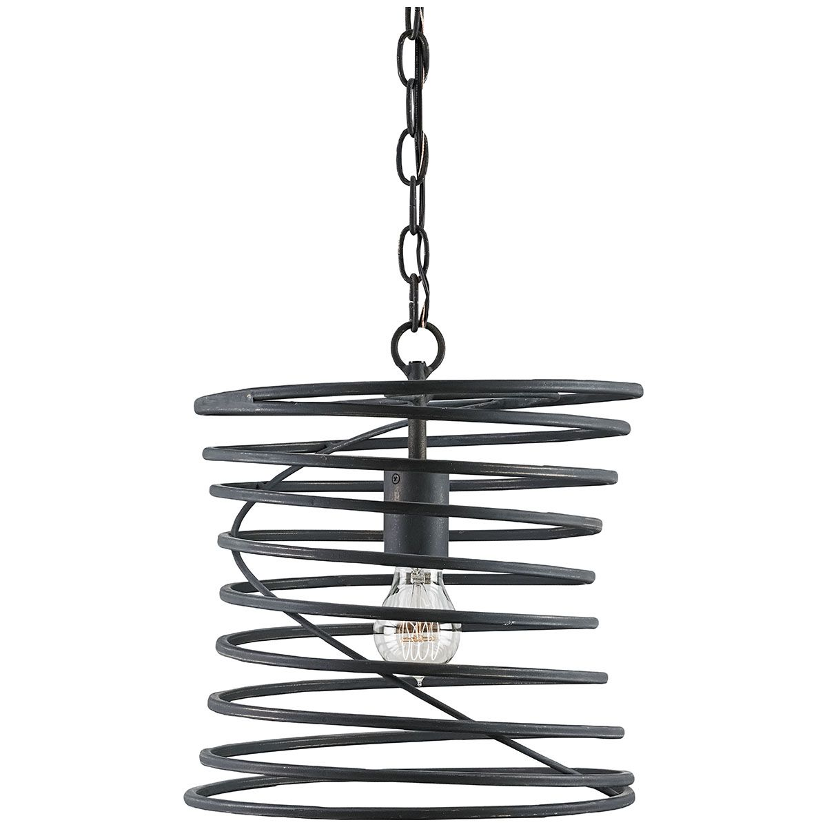Currey and Company Nebula French Black Pendant 9867 | Currey and ...