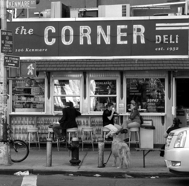 The Corner Deli Manhattan New York City New York Deli Shop Deli Corner Restaurant
