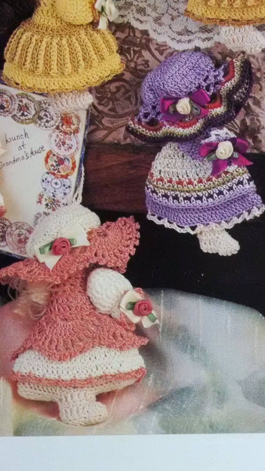 Crochet pattern book annies attic 878501 thread crochet crochet pattern book annies attic 878501 thread crochet sunbonnet doll by quiltingthreads bankloansurffo Image collections