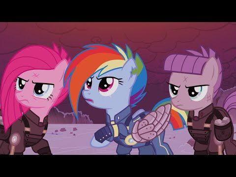 Mlp The Cutie Remark Equestria Vs The Crystal Empire War