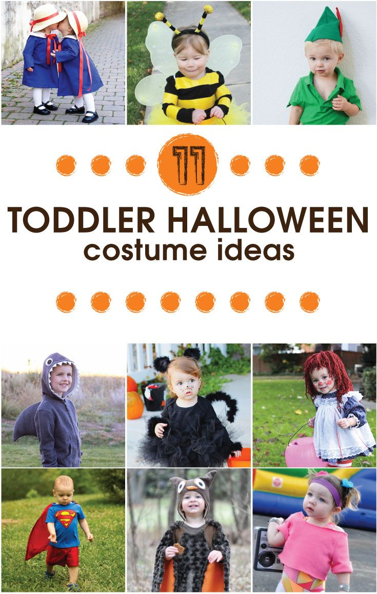 11 Easy DIY Toddler Halloween Costume Ideas | Diy toddler halloween ...