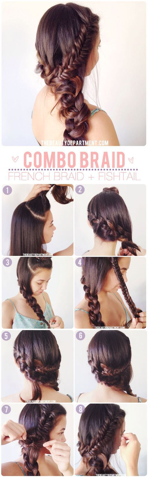 Easy Hairstyles For Long Hair Step By Step Jpg 650 497 Easy Hairstyles Short Hair Styles Easy Stylish Hair