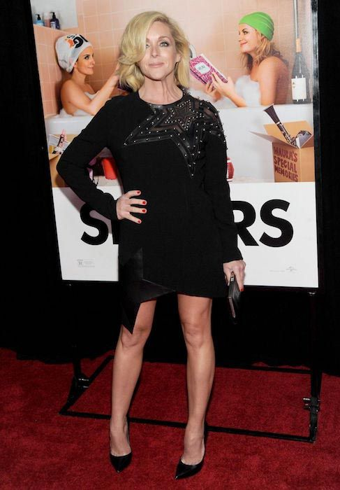 "Jane Krakowski at ""Sisters"" premiere at Ziegfeld Theater in New York in December 2015..."