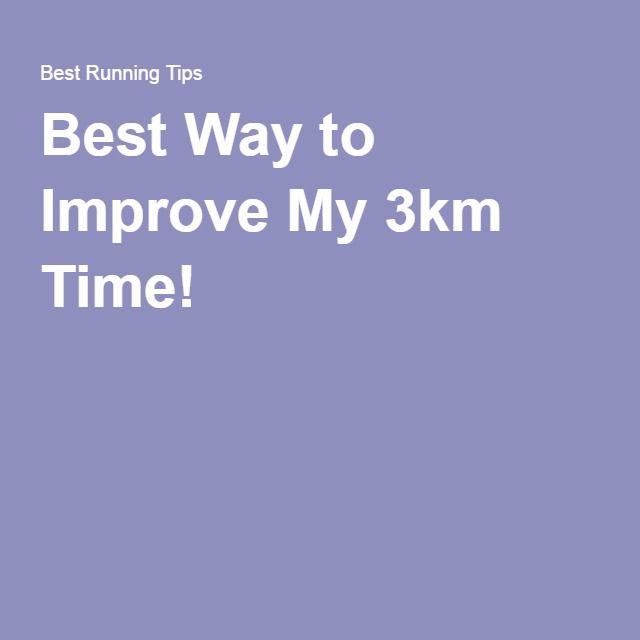Best Way to Improve My 3km Time!