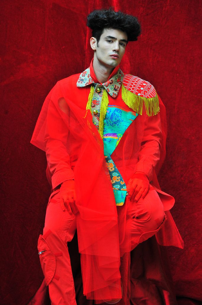 Total Look by Walter Van Beirendonck; Photography Leonardo V