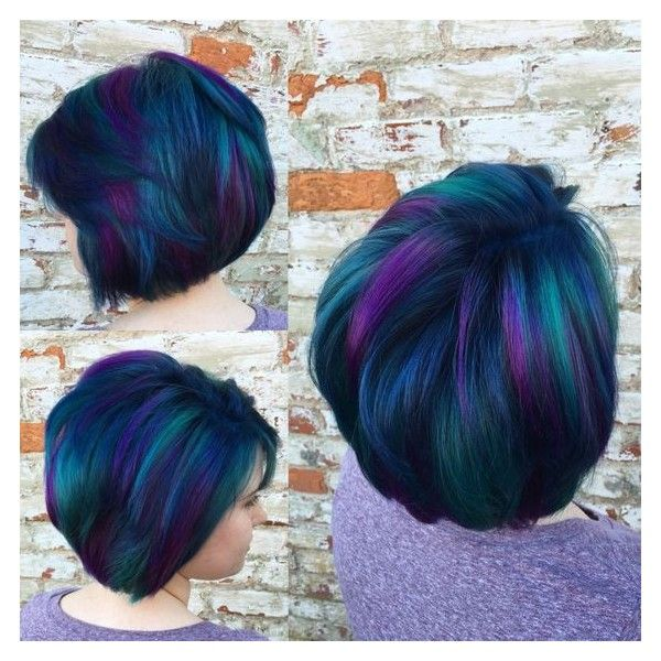 Multi Colored Short Hairstyles Bright Hair Short Dyed Hair Short Hair Color