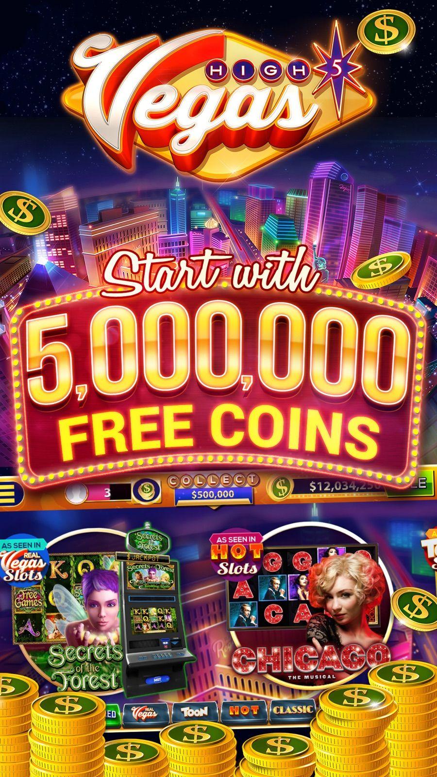 High 5 Vegas Hit Slots on the App Store Free slots